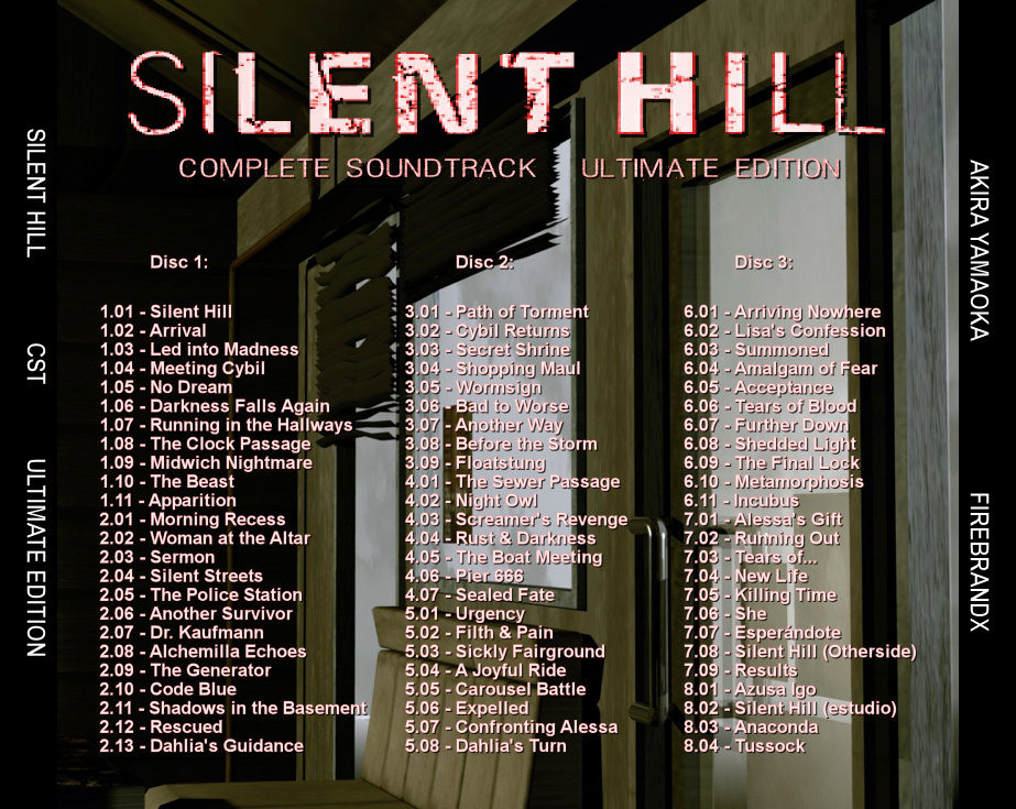 Silent Hill Complete Soundtrack Ultimate Edition