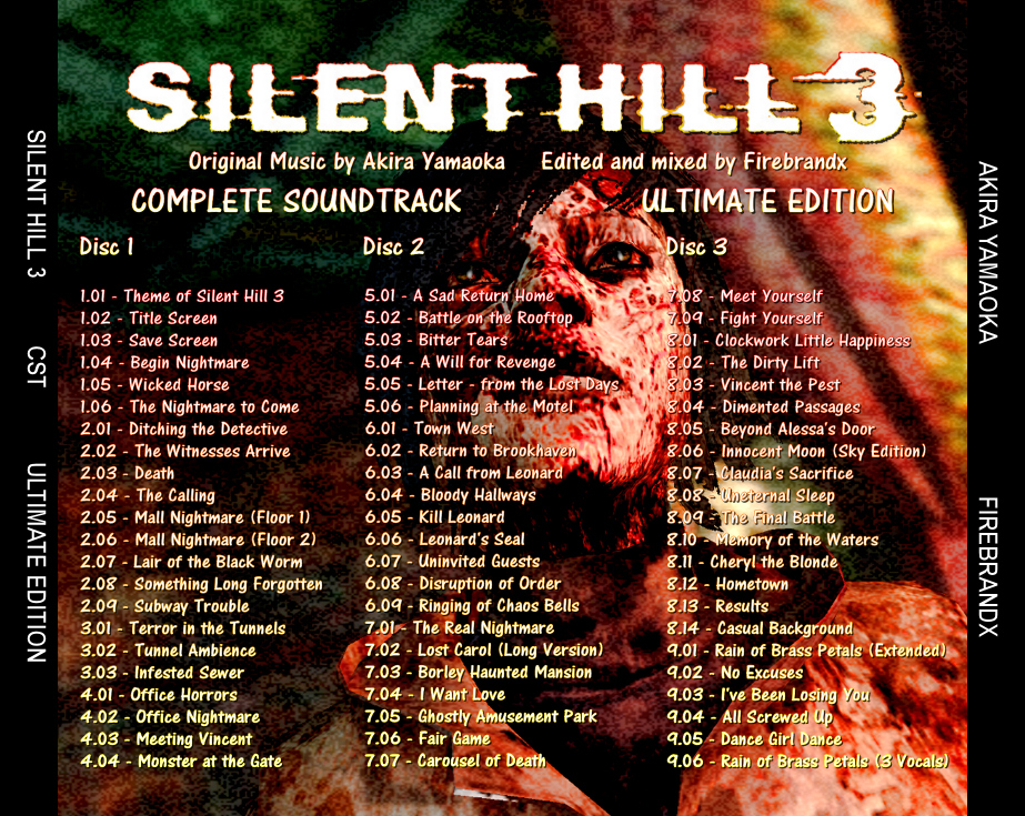 Silent Hill 3 Complete Soundtrack Ultimate Edition